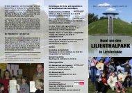 Rund um den LILIENTHALPARK in Lichterfelde  - Heimatverein ...