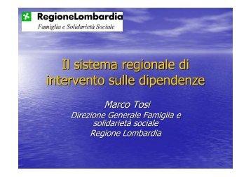 Marco Tosi - 5a Conferenza nazionale sulle droghe