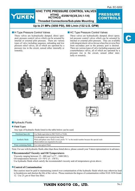 Yuken Engineering Information C