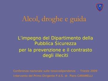 Piero Caramelli - 5a Conferenza nazionale sulle droghe