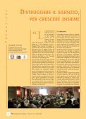 DISTRUGGERE IL SILENZIO, PER CRESCERE INSIEME ... - Page 2