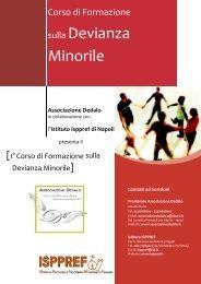 1 Corso di Aggiornamento sulla Devianza Minorile - ISPPREF