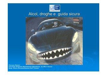 Alcol, droghe e guida sicura - Ce.Do.S.T.Ar.