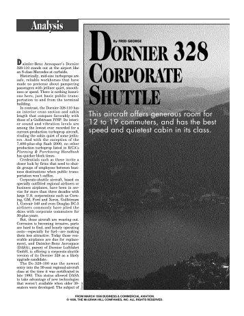 Dornier 328 Corporate Shuttle