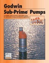 Godwin Sub-Prime® Pumps - Aquatech