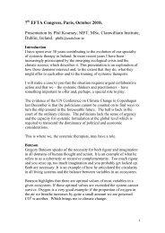Download the presentation in English (PDF 124Kb) - European ...