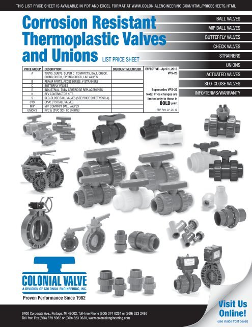 Low Resolution PDF - Colonial Engineering