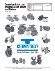 Colonial Price Book Revised.indd - Colonial Engineering