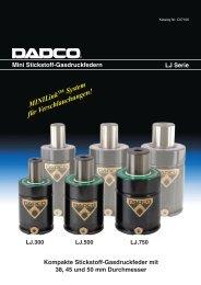 LJ Serie Druckbare PDF-Datei - DADCO Inc.