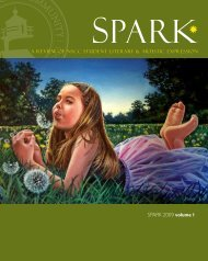 SPARK 2009 volume 1 - North Shore Community College