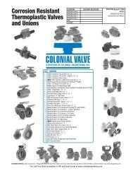 Colonial Price Book 08 24.indd - Colonial Engineering