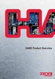 HAWE Product Overview - HAWE Hydraulics
