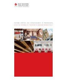 documentation séminaires - Hôtel de la Rose