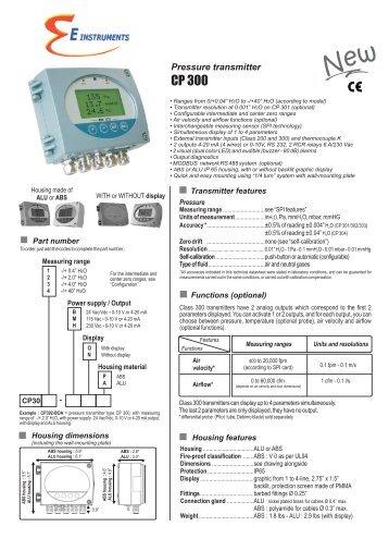 CP300 - E Instruments
