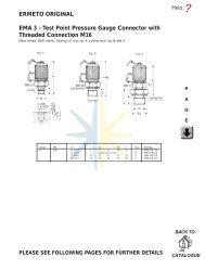 ERMETO ORIGINAL EMA 3 - Test Point Pressure Gauge ... - Hydralink