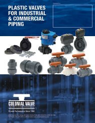 Industrial Valve Brochure - Colonial Engineering