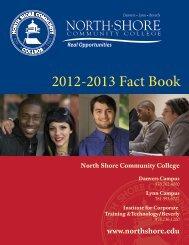 Fall 2012 - North Shore Community College