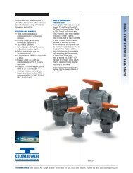 Multi-port Ball Valve - Colonial Engineering