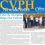 Color By Discipline Helps Our Patients - CVPH Medical Center