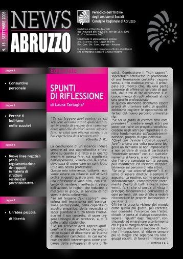 Scarica il numero 15 in formato pdf - ORASABRUZZO