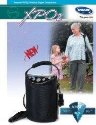 Invacare XPO2 Brochure - Oxygen Concentrator Store