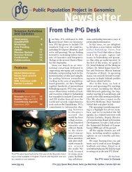 Newsletter Sept. 2009 - P3G