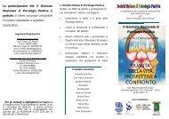 II Giornata Nazionale di Psicologia Positiva - Ordine Psicologi Abruzzo