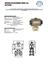 2 way stainless steel ball valve coupled with pneumatic actuator