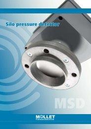 Silo pressure detector