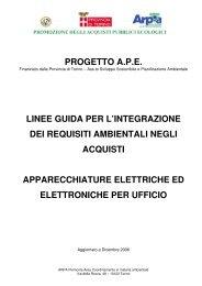 Apparecchiature elettriche ed elettroniche per ufficio - Città di Torino