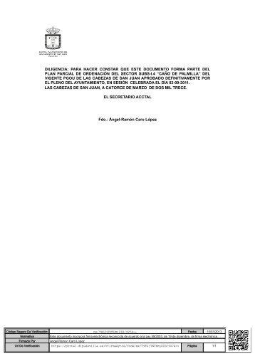 plan de etapas. - Ayuntamiento de Las Cabezas de San Juan
