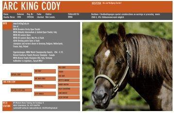 ARC KING CODY