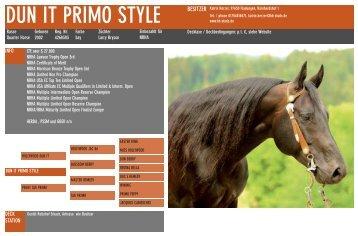 DUN IT PRIMO STYLE