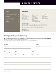 PFLEGE SERVICE - Heilberufe