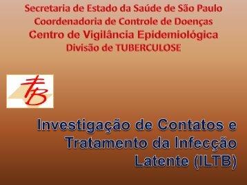 Tratamento infecçao latente - Centro de Vigilância Epidemiológica