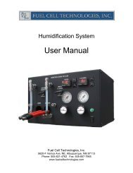 Humidification System - FCT Downloads