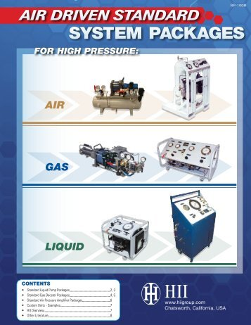 Detailed Literature Available - Hydraulics International, Inc. PUMP ...