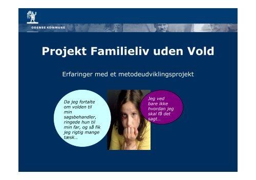 Projekt Familieliv uden Vold