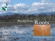 FY 2007-2008 Annual Report - Laguna de Santa Rosa Foundation