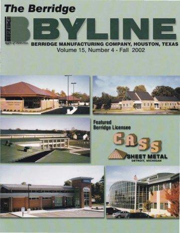 CASS Sheet Metal - Berridge Manufacturing Co.
