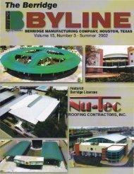 NU-Tec Roofing Contractors, Inc - Berridge Manufacturing Co.