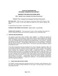 RFP Template - General - Spokane County Conservation District