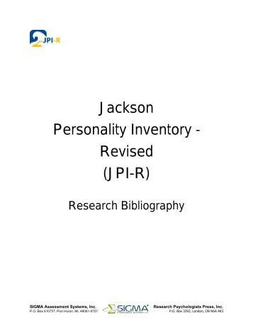 Psychological Screening Inventory - 2 (PSI-2) - Sigma Assessment ...