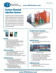 Custom Chemical Injection System - Integrated Flow Solutions