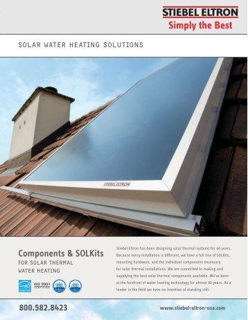 Solar Warter Heating Solutions - Stiebel Eltron