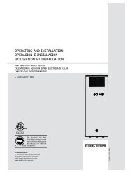 Accelera® 300 Operation and Installation Manual - Stiebel Eltron