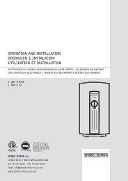 Instalación - Stiebel Eltron