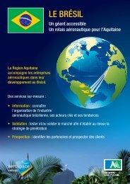Le BrésiL - Aquitaine Export - Conseil Régional d'Aquitaine