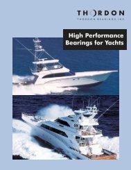 Yacht brochure.qxd - Thordon Bearings