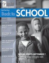 SCHOOL STARTS SEPTEMBER 7 - St. Paul Public Schools